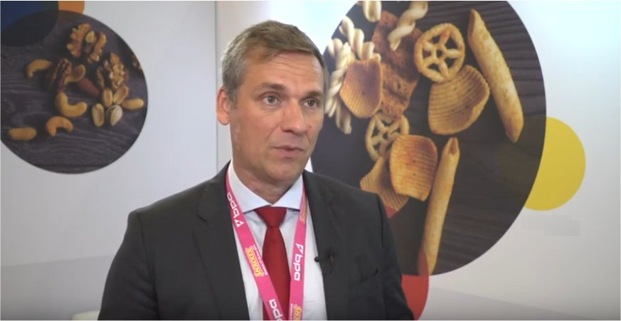 SNACKEX 2019 - Interview with Sebastian Emig - Director General of European Snacks Association