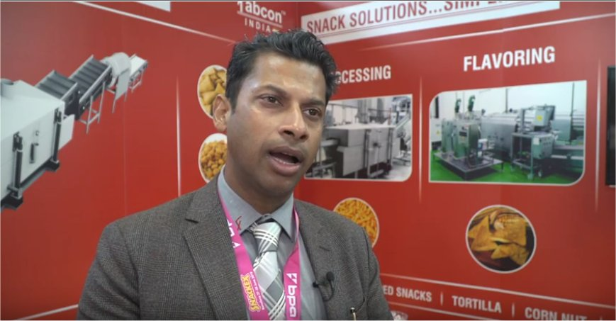 SNACKEX 2019 - Interview with Nishant Bansal, Nodia Fabcon